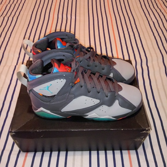 another chance 3e171 15024 Jordan Retro 7 Fits size 8.5-9 women's!! NWT